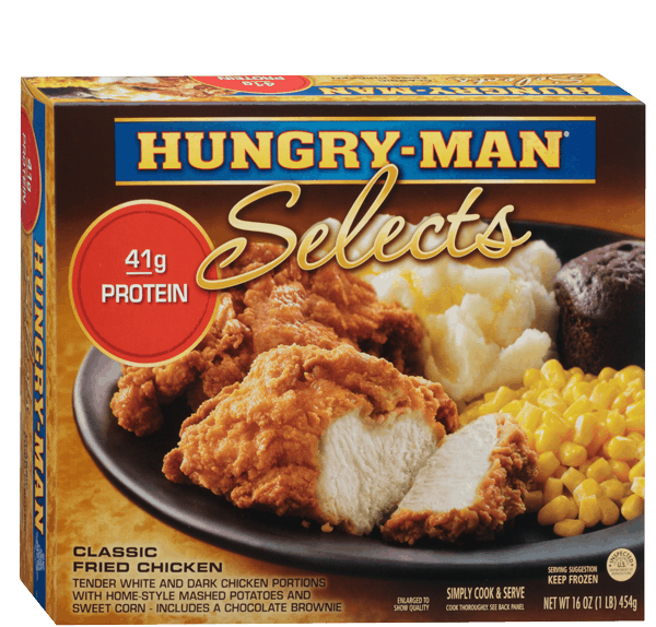 $0.75 for Hungry-Man® Selects. Offer available at Walmart.