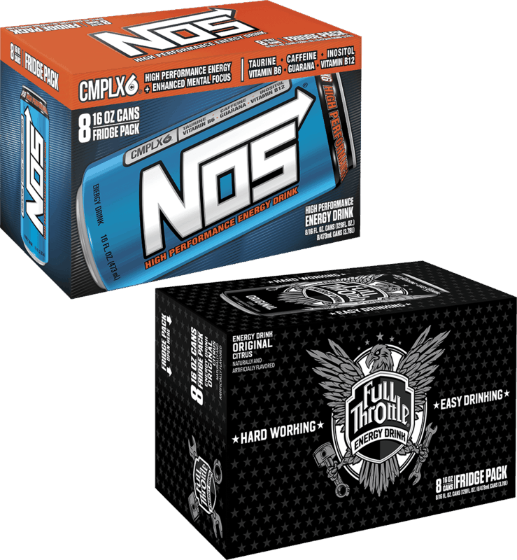 $3.00 for NOS Energy Drink or Full Throttle Energy Drink (expiring on Thursday, 12/31/2020). Offer available at Walmart, Walmart Grocery.