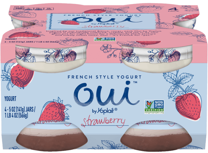 $1.00 for Oui™ by Yoplait® (expiring on Monday, 03/02/2020). Offer available at Walmart.