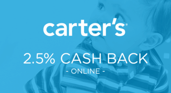 $0.00 for Carter's (expiring on Wednesday, 12/02/2020). Offer available at Carter's.