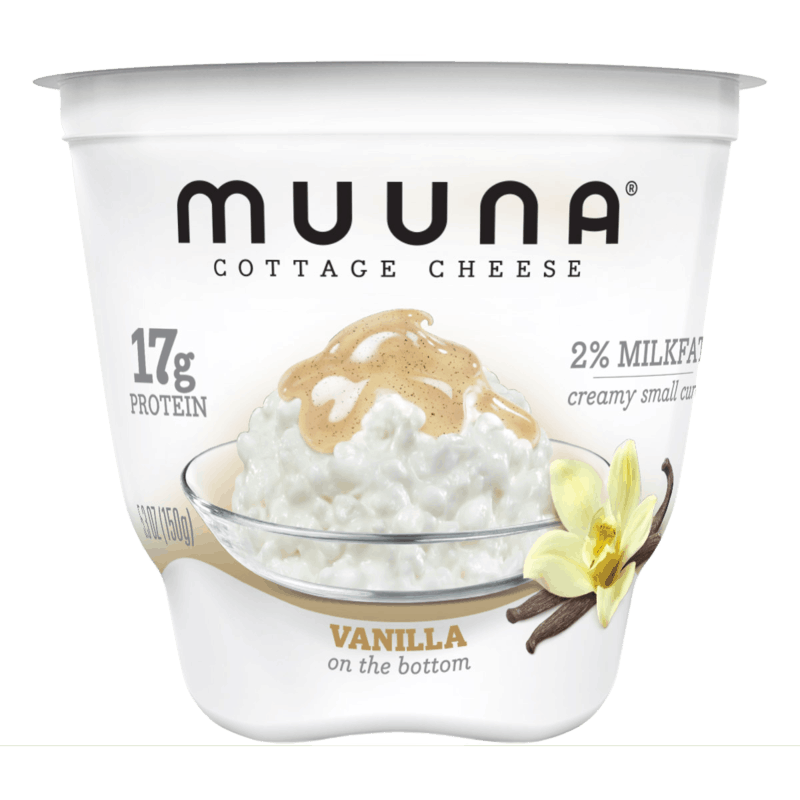 $0.50 for Muuna® Cottage Cheese Vanilla (expiring on Monday, 09/02/2019). Offer available at Wegmans.