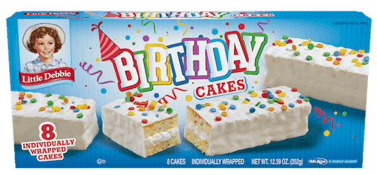 0 50 For Little Debbie Birthday Cakes Offer Available At Multiple Stores Printable Coupons