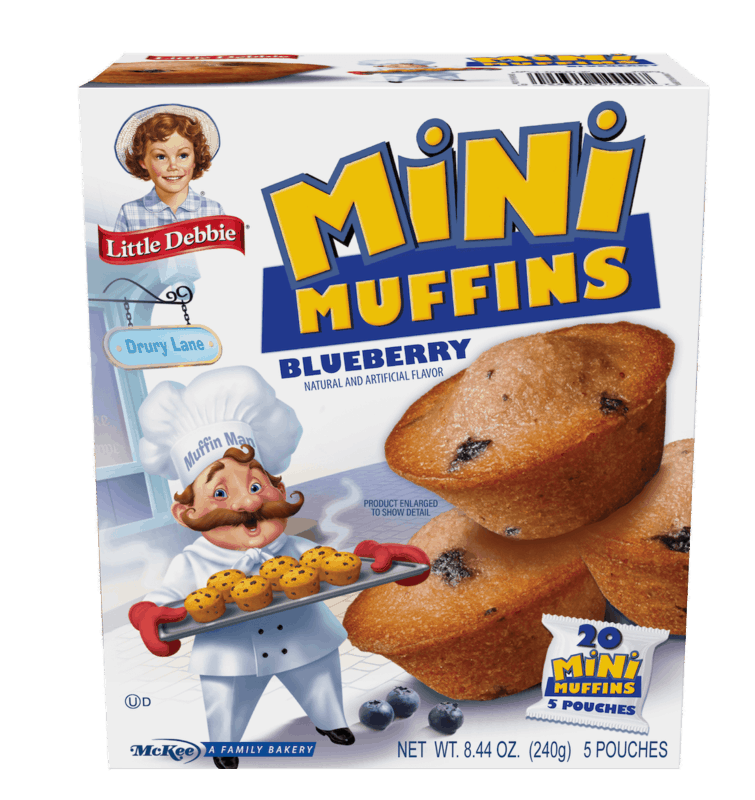 $0.50 for Little Debbie Mini Muffin or Mini Brownie (expiring on Tuesday, 06/02/2020). Offer available at multiple stores.