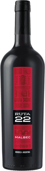 $1.00 for Ruta 22 Malbec (expiring on Thursday, 02/08/2018). Offer available at multiple stores.