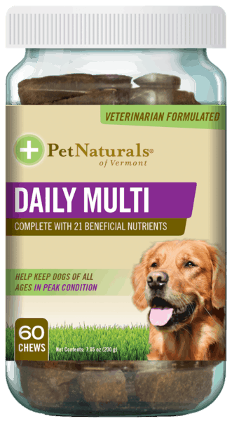 $1.00 for Pet Naturals® Daily Multivitamin (expiring on Tuesday, 10/15/2019). Offer available at Walmart.