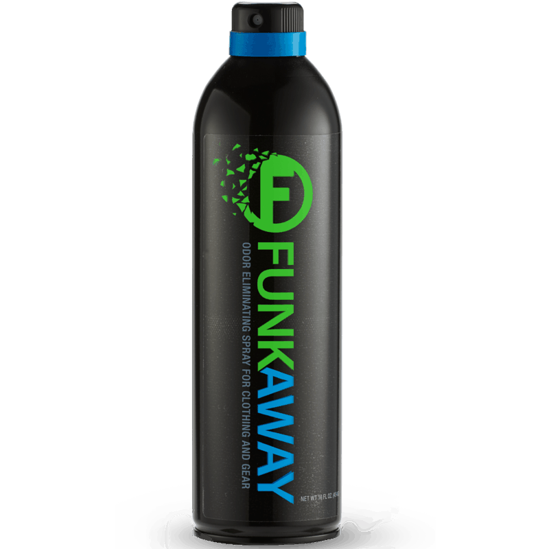 $1.00 for FunkAway™ Aerosol (expiring on Saturday, 05/02/2020). Offer available at Walmart.