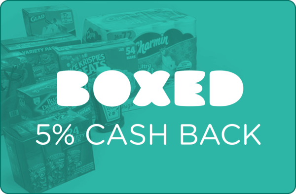 $0.00 for Boxed (expiring on Sunday, 10/22/2017). Offer available at Boxed.