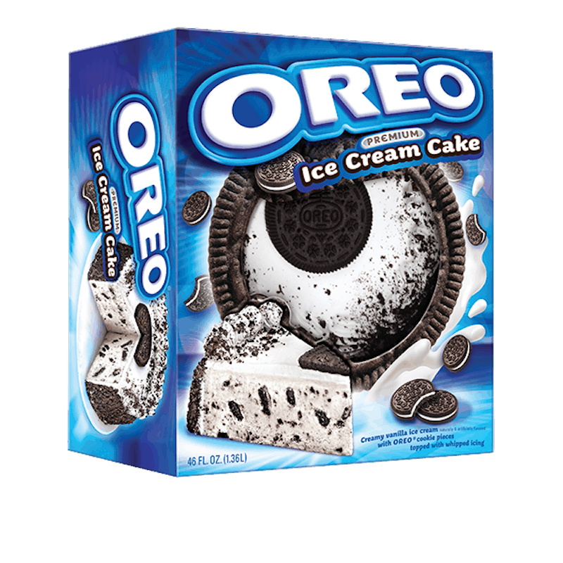 $2.50 for OREO Ice Cream Cake (expiring on Friday, 06/19/2020). Offer available at multiple stores.
