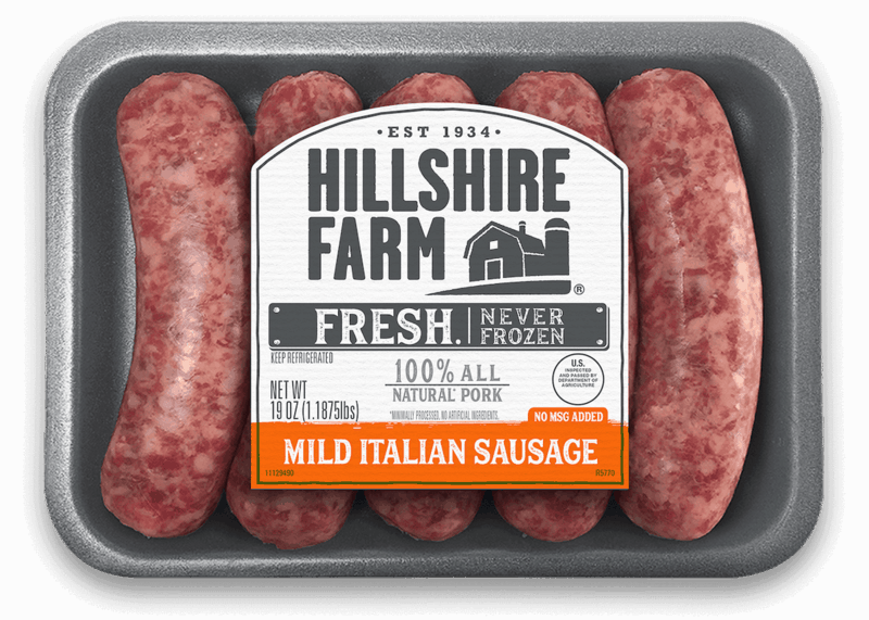 $1.10 for Hillshire Farm Fresh Sausage Links (expiring on Tuesday, 06/02/2020). Offer available at Walmart.