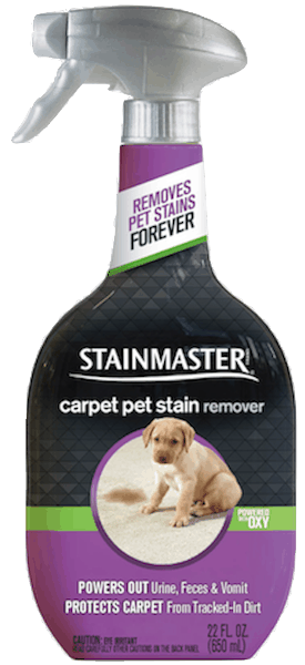$0.75 for STAINMASTER® Pet Stain Remover (expiring on Saturday, 03/02/2019). Offer available at Walmart.