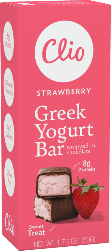 $0.50 for Clio Greek Yogurt Bars (expiring on Friday, 09/24/2021). Offer available at Walmart, Walmart Pickup & Delivery.