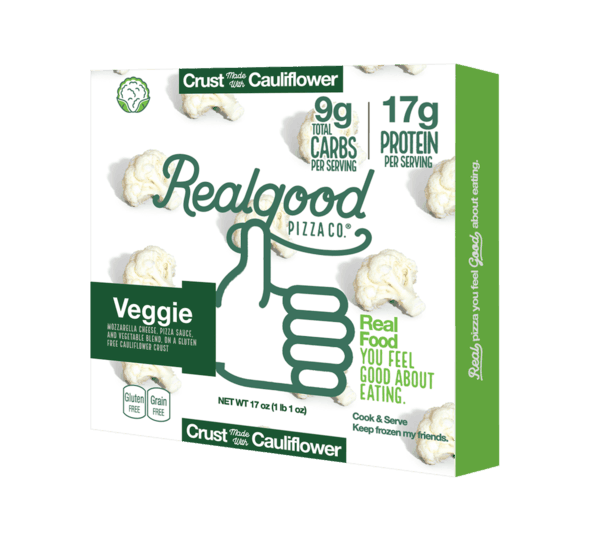 $1.50 for Real Good Foods® Cauliflower Pizza Crust (expiring on Friday, 08/02/2019). Offer available at Walmart.