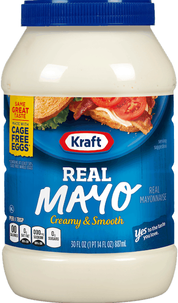 $0.75 for Kraft®Real Mayo (expiring on Tuesday, 10/02/2018). Offer available at multiple stores.