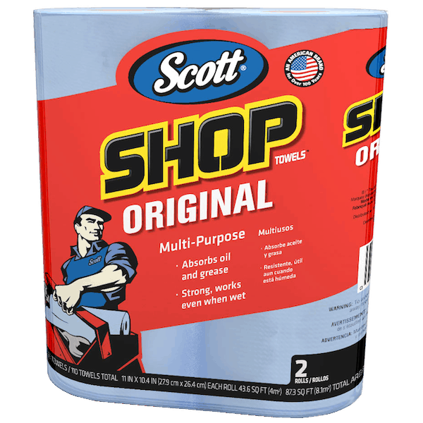 $0.25 for Scott® Original Shop Towels (expiring on Wednesday, 07/18/2018). Offer available at Walmart.