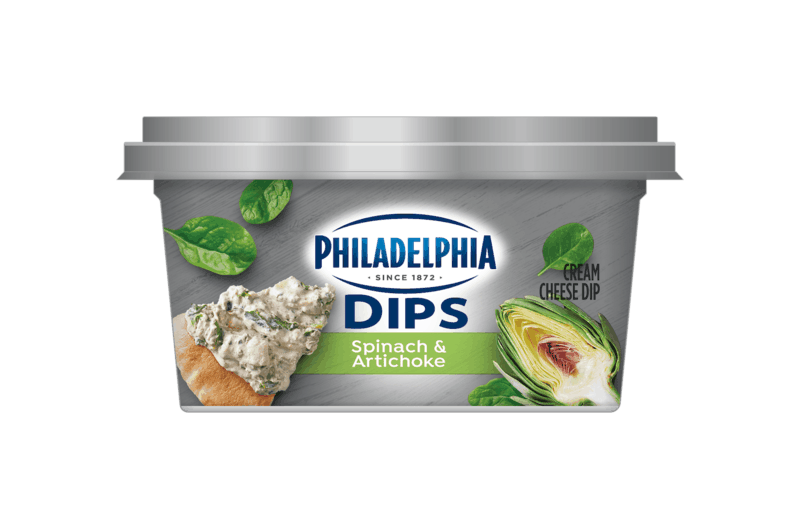 $1.00 for PHILADELPHIA Dips (expiring on Monday, 02/10/2020). Offer available at multiple stores.