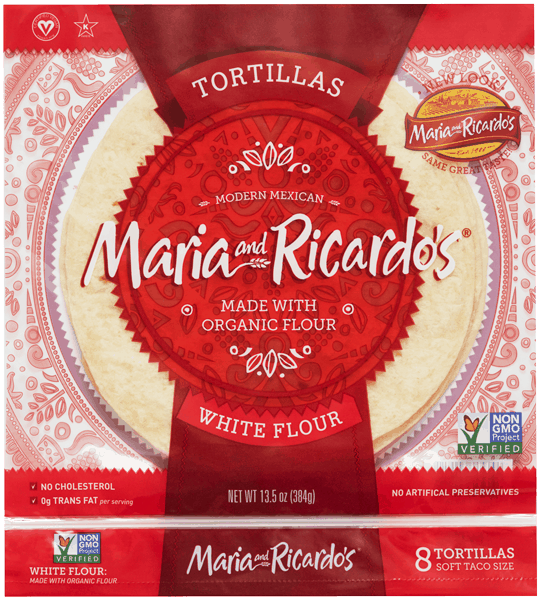$1.00 for Maria and Ricardo's® Tortillas (expiring on Sunday, 09/02/2018). Offer available at multiple stores.