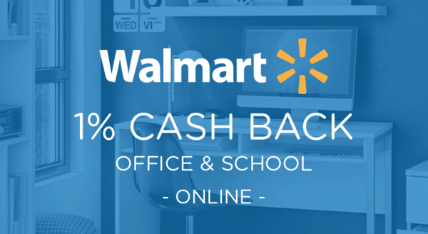 $0.00 for Walmart.com Office and School (expiring on Wednesday, 04/01/2020). Offer available at Walmart.com.