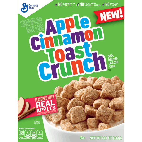 $1.00 for Apple Cinnamon Toast Crunch™ (expiring on Wednesday, 02/14/2018). Offer available at multiple stores.
