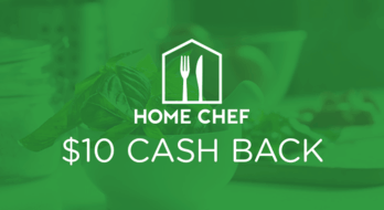 $10.00 for Home Chef (expiring on Friday, 01/31/2020). Offer available at Home Chef.