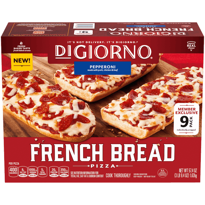 $2.00 for DiGiorno French Bread Pizza (expiring on Wednesday, 12/30/2020). Offer available at Sam's Club.