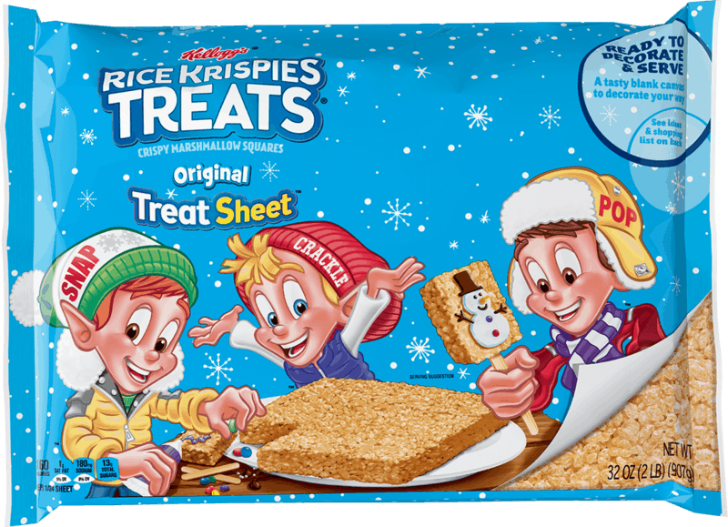 $2.50 for Kellogg's Rice Krispies Treat Original Treat Sheet (expiring on Saturday, 02/27/2021). Offer available at Walmart, Walmart Pickup & Delivery.