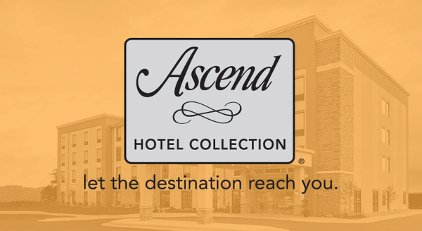 $0.00 for Ascend Hotel Collection (expiring on Wednesday, 01/15/2025). Offer available at Choice Hotels.