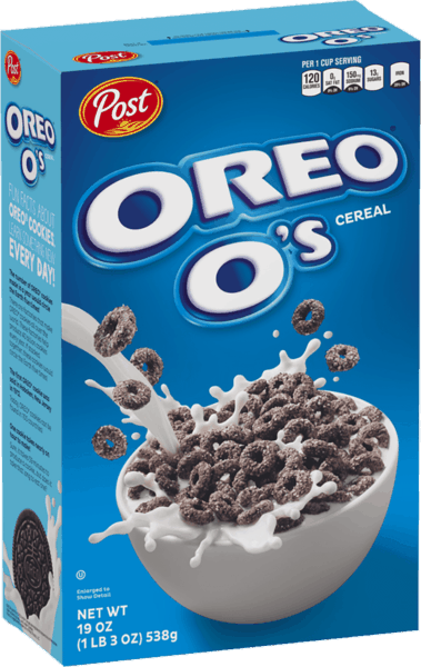 $0.25 for OREO O's™ Cereal (expiring on Wednesday, 03/13/2019). Offer available at Walmart.