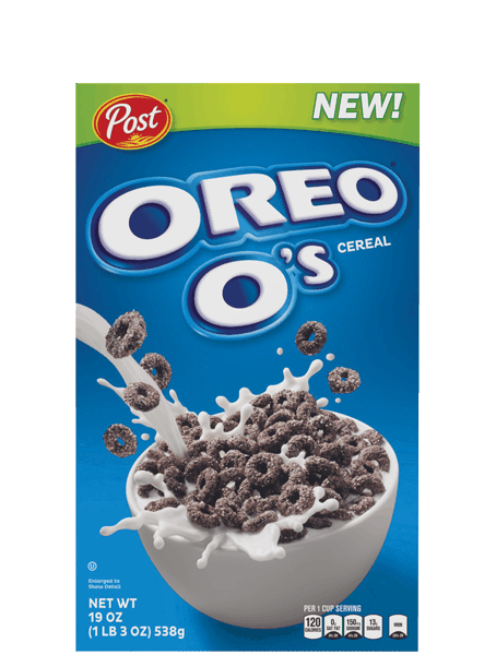 $0.40 for OREO O's™ Cereal (expiring on Sunday, 09/02/2018). Offer available at multiple stores.
