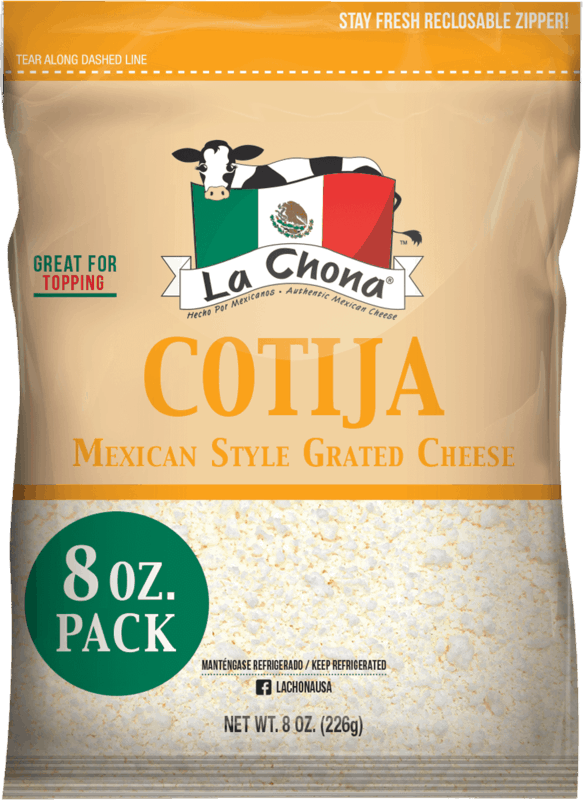 $1.25 for La Chona Cotija Cheese (expiring on Monday, 05/31/2021). Offer available at GIANT (PA,WV,MD,VA), MARTIN'S.