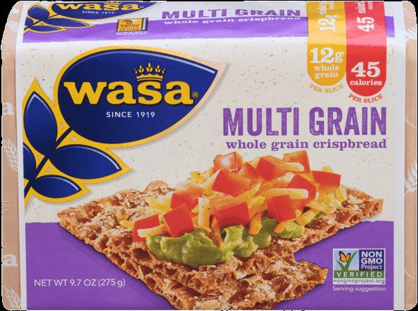 $1.00 for Wasa® Multi-Grain Crispbread (expiring on Friday, 03/03/2017). Offer available at Walmart.