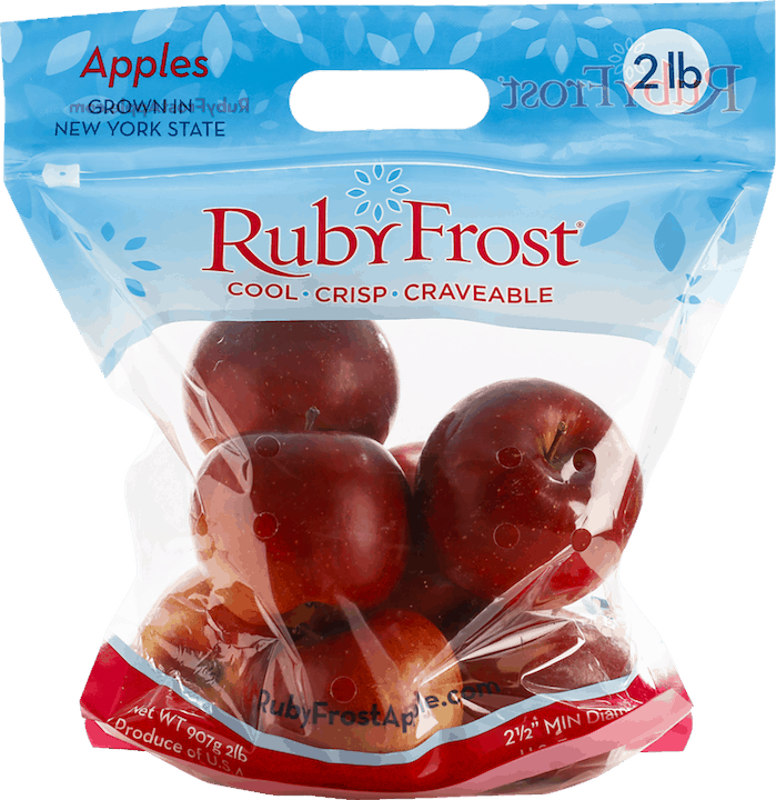$1.00 for Ruby Frost Apples (expiring on Thursday, 07/30/2020). Offer available at multiple stores.