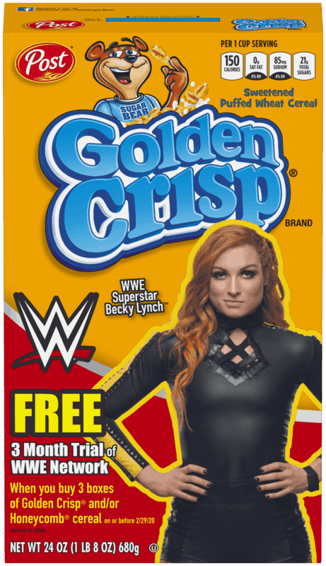 $0.50 for Post® Golden Crisp® Cereal (expiring on Tuesday, 03/03/2020). Offer available at multiple stores.