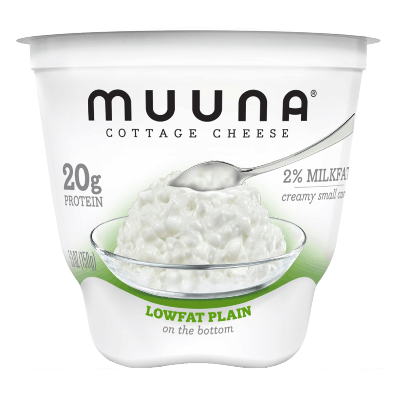 $0.50 for Muuna® Cottage Cheese Lowfat Plain (expiring on Monday, 09/02/2019). Offer available at Walmart, Meijer.