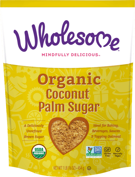 $1.00 for Wholesome™ Organic Coconut Palm Sugar (expiring on Tuesday, 10/02/2018). Offer available at multiple stores.