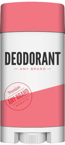 $0.25 for Deodorant - Any Brand (expiring on Monday, 12/25/2017). Offer available at multiple stores.