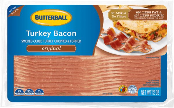 $0.50 for Butterball® Turkey Bacon (expiring on Saturday, 03/02/2019). Offer available at multiple stores.