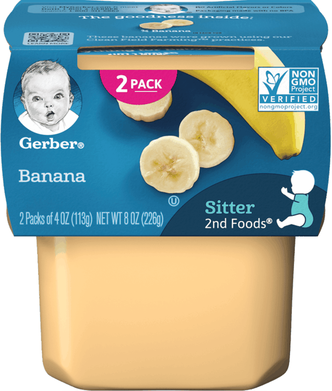 $1.00 for Gerber® 2nd Foods Tubs (expiring on Friday, 07/26/2019). Offer available at Walmart.