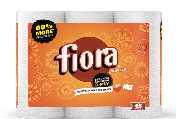 $1.00 for Fiora® Paper Towels. Offer available at multiple stores.