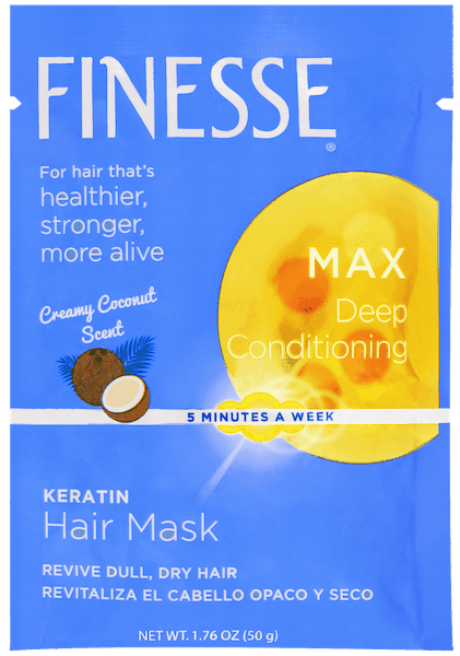 $0.50 for Finesse Hair Mask (expiring on Saturday, 10/31/2020). Offer available at multiple stores.