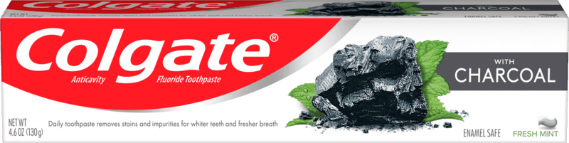 $1.00 for Colgate® with Charcoal Toothpaste (expiring on Sunday, 11/01/2020). Offer available at multiple stores.