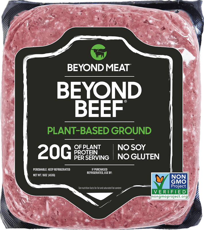 $1.00 for Beyond Beef from Beyond Meat (expiring on Tuesday, 06/02/2020). Offer available at multiple stores.
