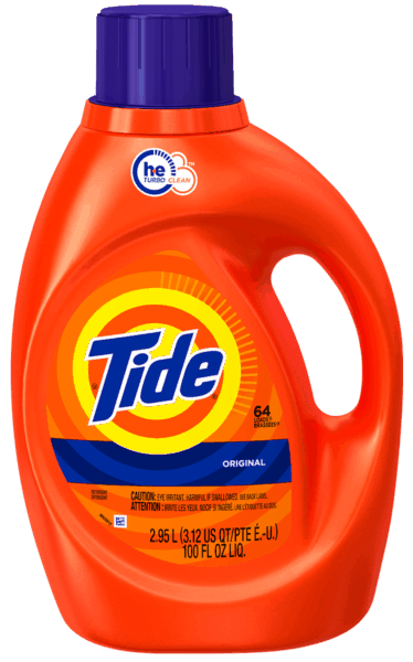 $0.50 for Tide® Liquid Laundry Detergent (expiring on Thursday, 08/02/2018). Offer available at Walmart.