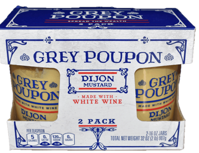 $1.00 for GREY POUPON (expiring on Thursday, 07/02/2020). Offer available at BJ's.