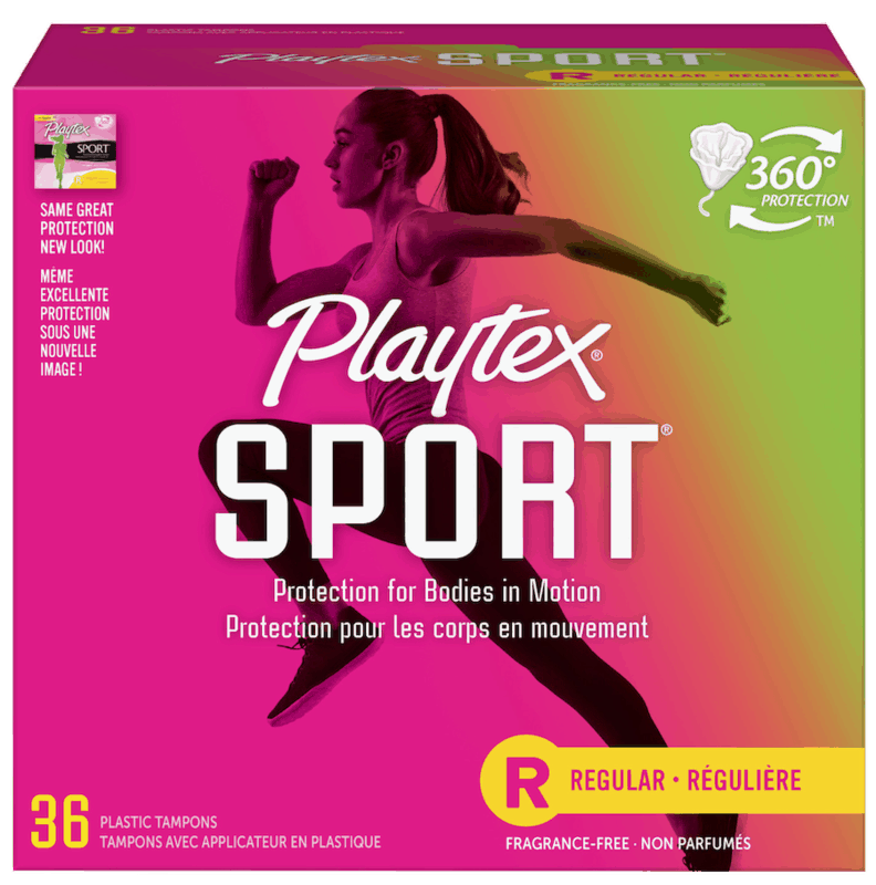 $1.00 for Playtex Sport Tampons. Offer available at Walmart, Walmart Pickup & Delivery.