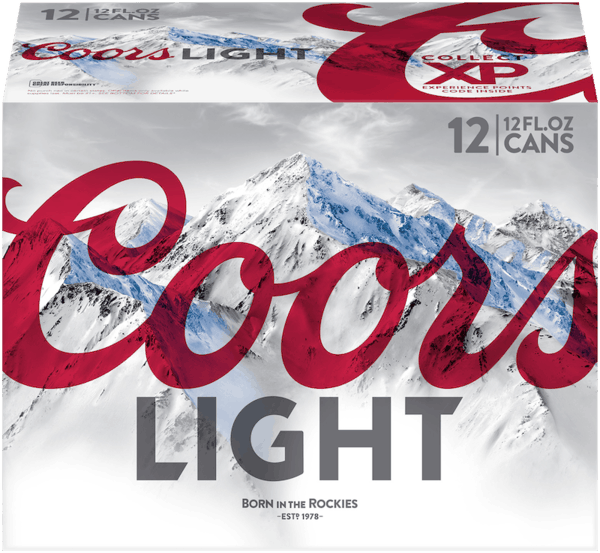 $4.00 for Coors Light®. Offer available at multiple stores.