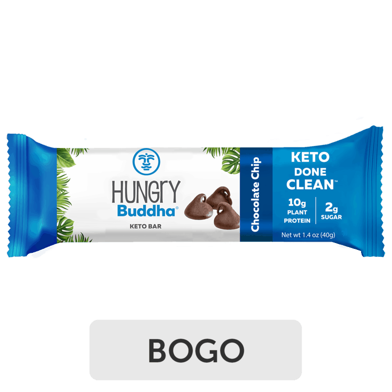 $2.49 for Hungry Buddha Keto Bar (expiring on Sunday, 10/31/2021). Offer available at multiple stores.