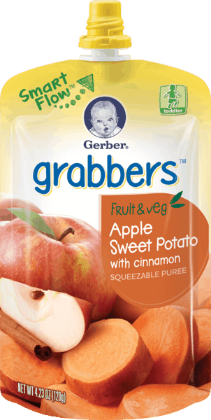 $1.00 for Gerber® Grabbers (expiring on Saturday, 02/03/2018). Offer available at Walmart.
