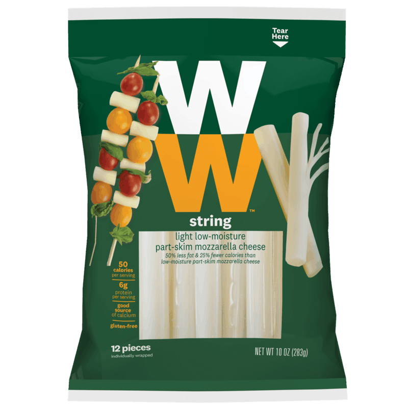 $0.75 for WW String Cheese (expiring on Sunday, 08/02/2020). Offer available at multiple stores.