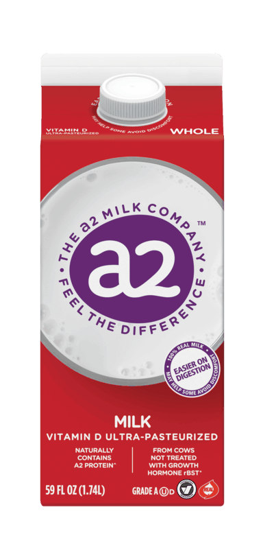 $0.50 for a2 Milk (expiring on Monday, 01/31/2022). Offer available at multiple stores.