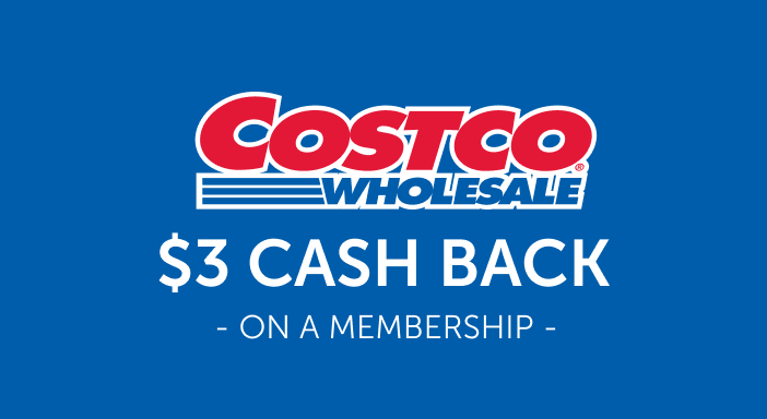 $3.00 for Costcomembershipoffer.com (expiring on Monday, 04/19/2021). Offer available at Costco.com.